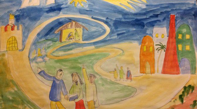 Krippenspiel Königskinder und Weihnachtsabend in der Neuen Brüderkirche