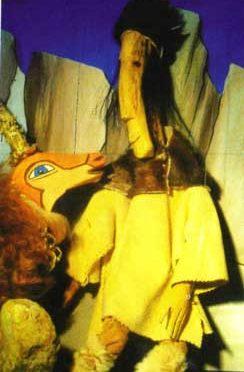 Albert Völkl: Der kleine Winzling – Figurentheater bei Kultur vor Ort